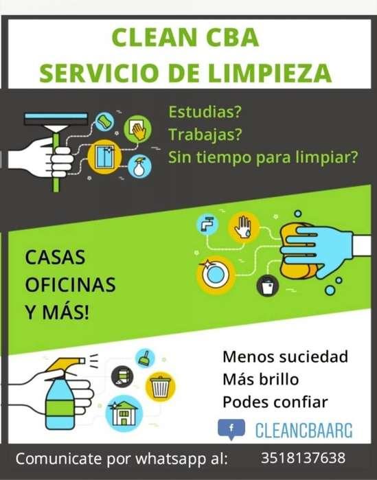 SERVICIO DE LIMPIEZA- CASAS COMERCIOS Y OFICINAS