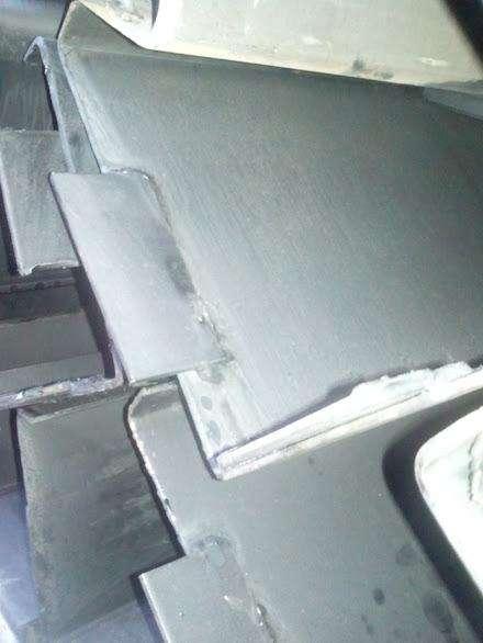 Rieles para pavimento punto de fabrica
