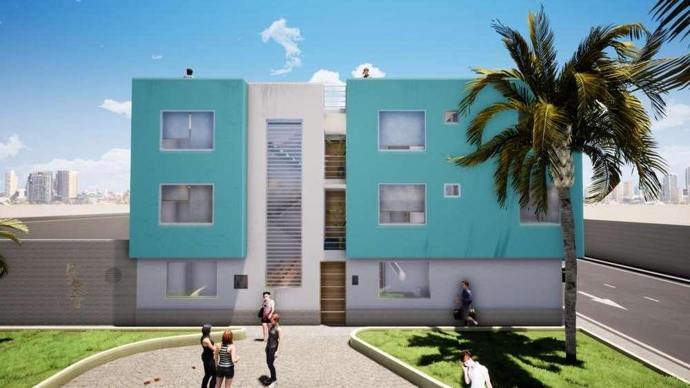 DEPARTAMENTO RESIDENCIAL LOS JARDINES CON BONOS DE 14600 SOLES