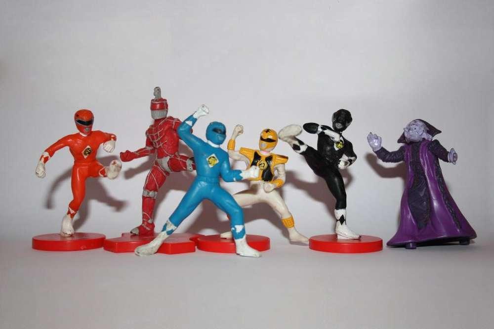 Figuras Power Rangers La Pelicula