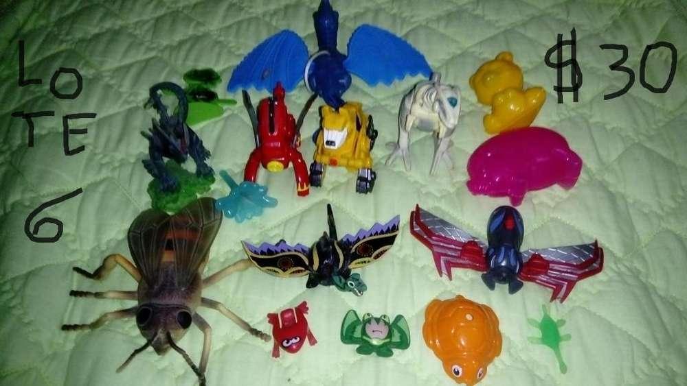 Lotes de varios juguetes de colección