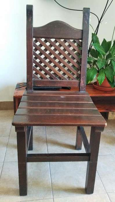 <strong>silla</strong>s de Algarrobo. Muy Buen Estado