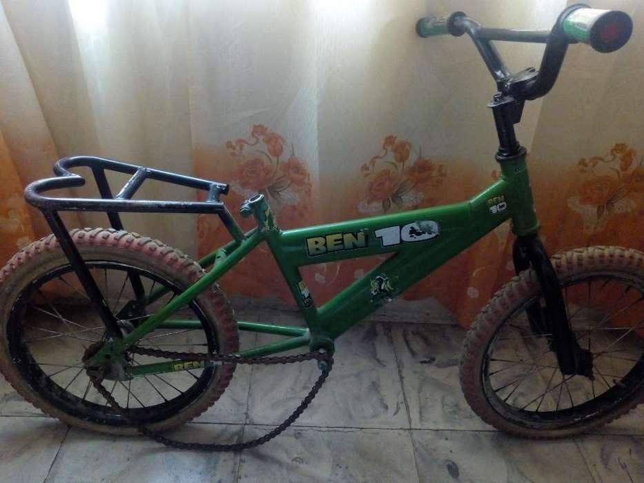 Bicicleta Niño Incompleta