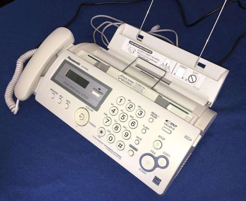 <strong>fax</strong> Panasonic Kx Fc 205 Multifunción