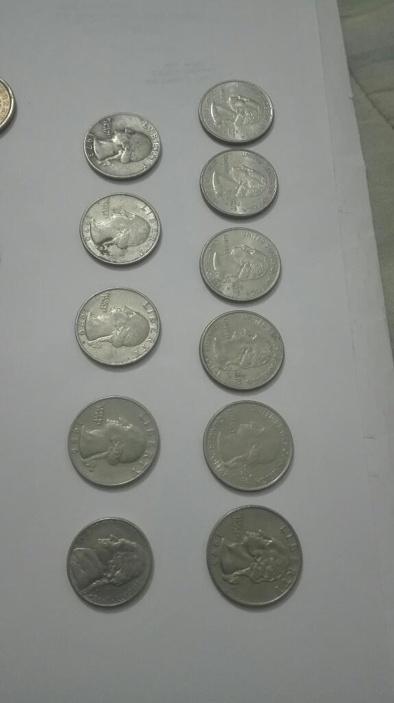 Colecion Monedas de Diferentes Paises