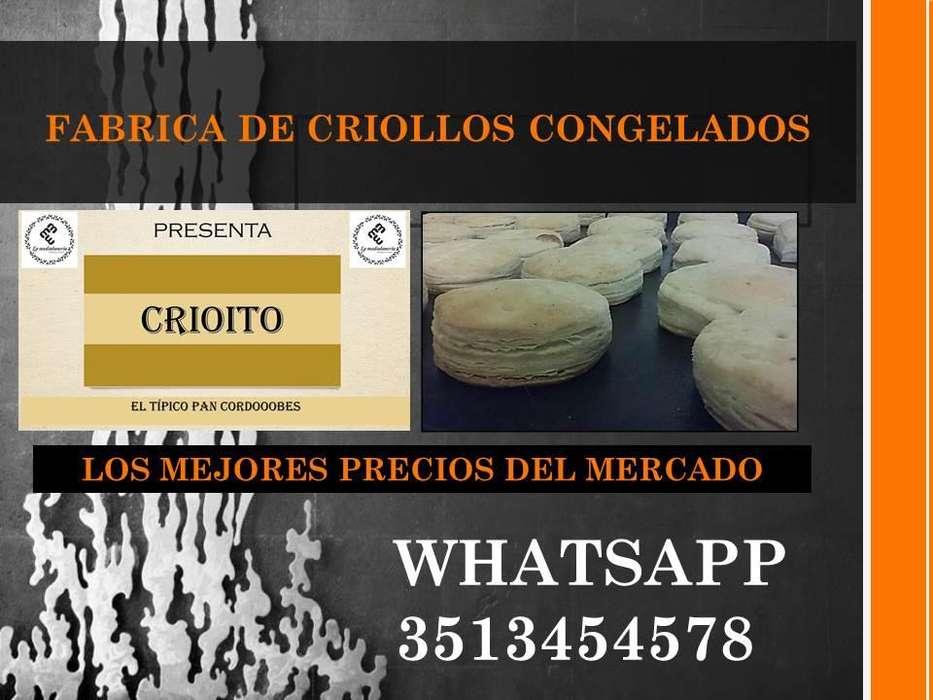 FABRICA DE CRIOLLOS CONGELADOS