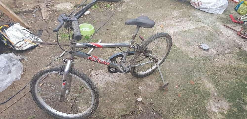 Bicicleta Cromada Rod 20