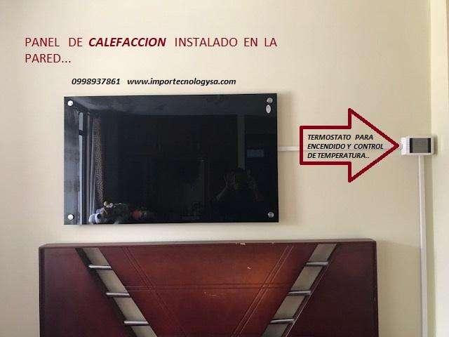 Calefacción Saludable ¡¡¡ Paneles Infrarrojos para pared...CALIENTE SU HOGAR
