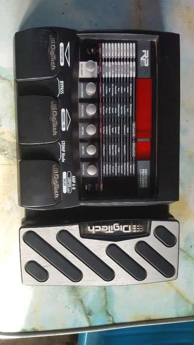 Pedalera Digitech 355. 150 Negociable