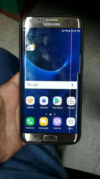 Vencambio Samsung S7 Edge Linea Rosa