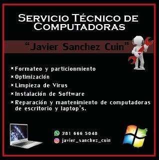 Reparaciones de Computadoras y Netbook