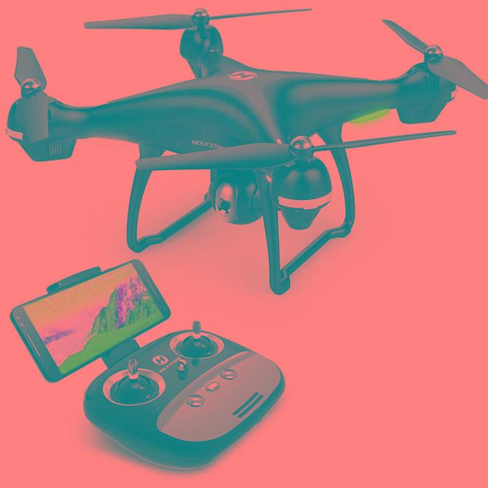 Drone Holy Stone GPS FPV RC HS100 con cámara de video en directo y GPS para regreso a casa