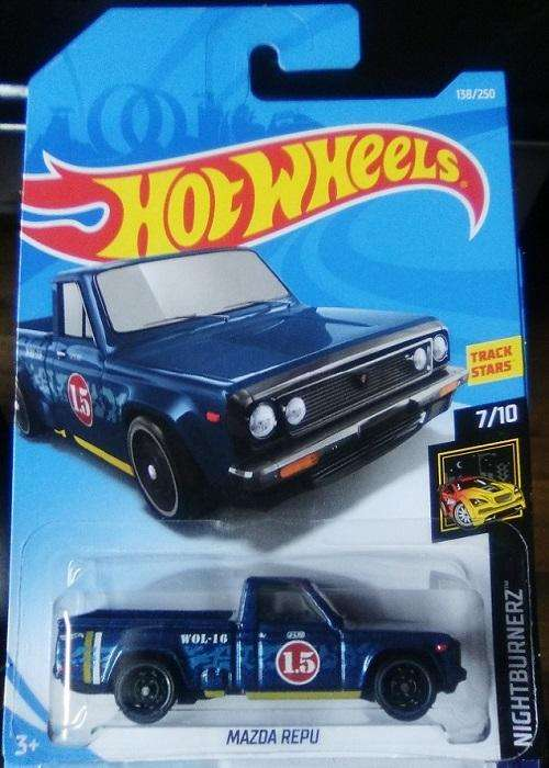 Hot Wheels Camioneta Mazda REPU