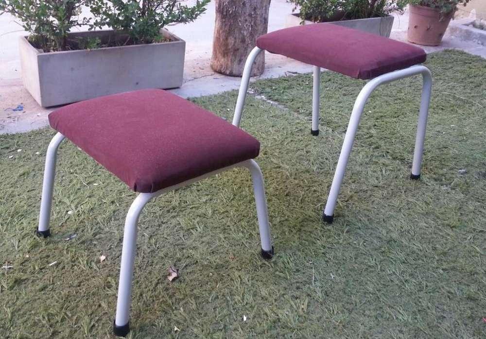 3 <strong>silla</strong>s, tapizado, patas de caño