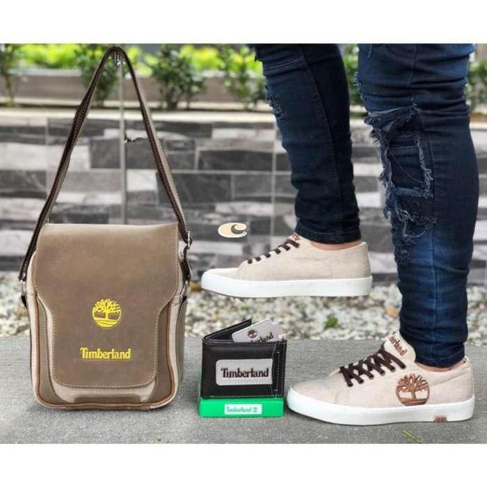 Zapatos, Bolsos Y Billetera Timberlan