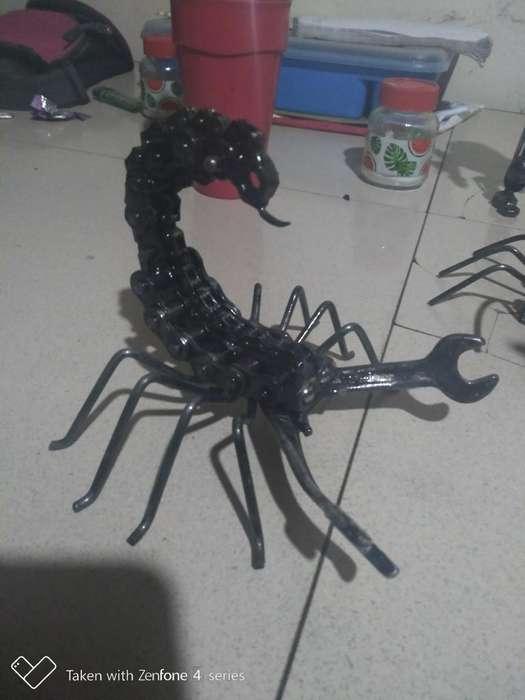 Scorpion Hecho en Soldadura