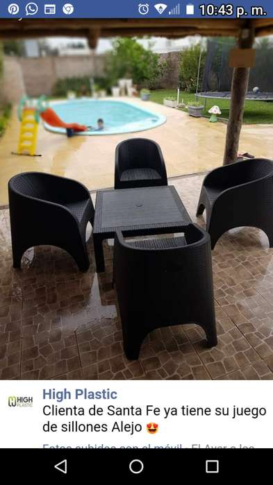 <strong>sillon</strong>es sillas juegos mesas ratonas otros..polipropileno alta densidad