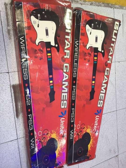 Guitarras para Ps3 Ps2 Y Wii