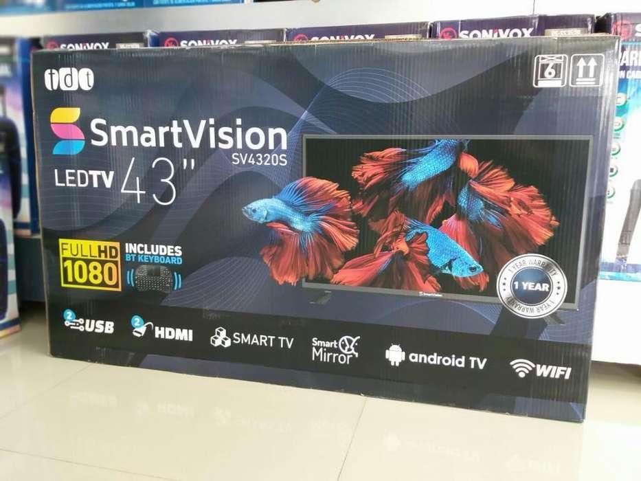 <strong>televisor</strong>e de 43 Pulgadas Smartv