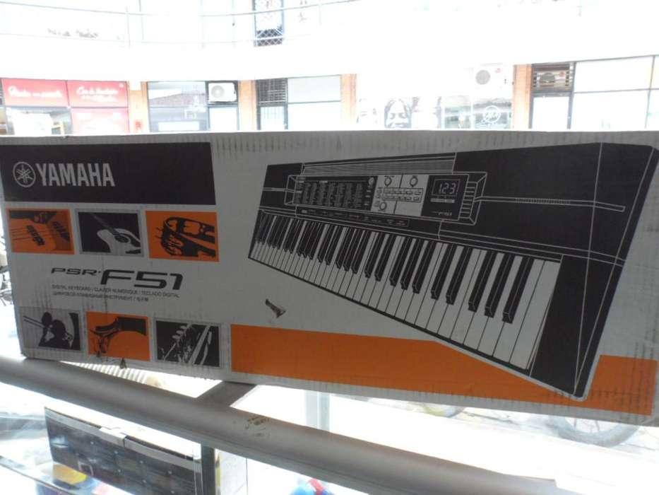 Teclado Digital Yamaha Psr-f51 5 Octavas Nuevo 114 Ritmos