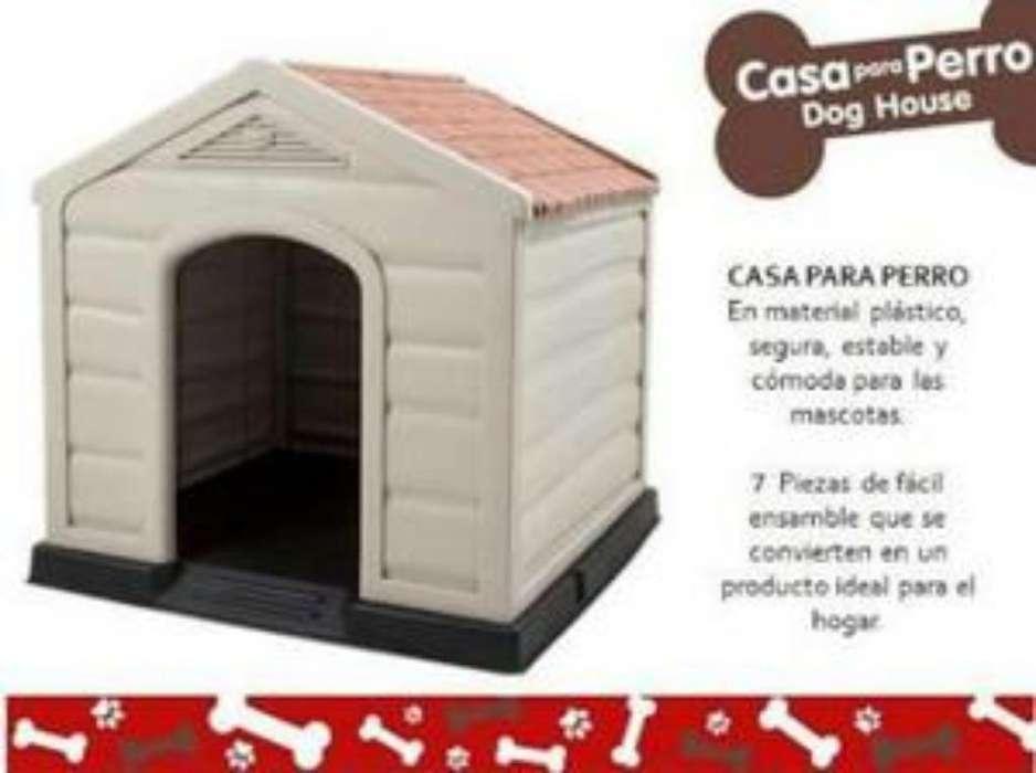 Casa Perro Pequeño Plástico