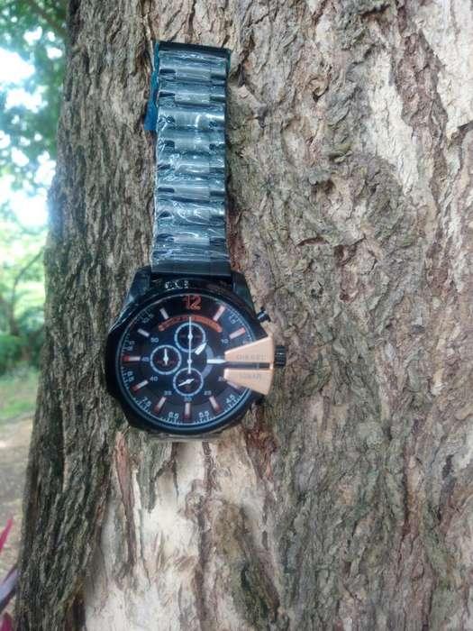 Reloj Hombre Sport Diesel Black Golden DTEMPORADA