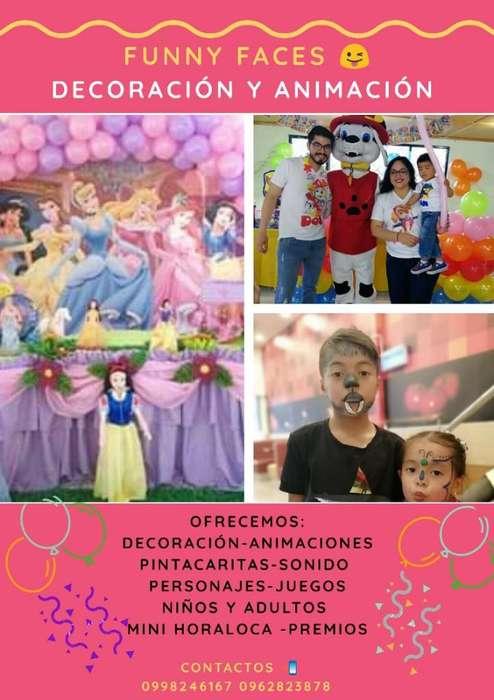 Animación Fiestas Infantiles Personajes
