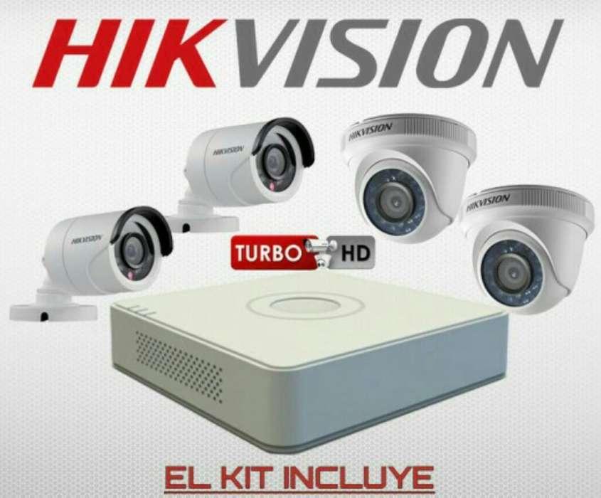 Camaras de seguridad HIK VISION HD