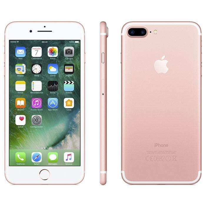 iPhone 7 Plus 128gb Apple 4k 4g Rosa