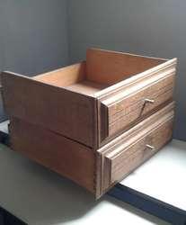 Cajón de madera maciza con su herraje Excelente Calidad!!!