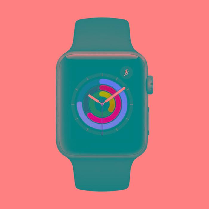 Apple Watch Series 3 Gris Espacial (GPS) 42 mm