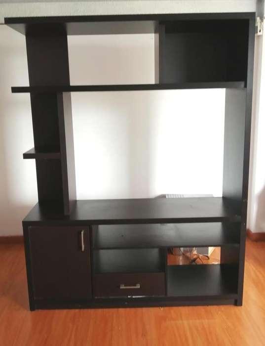 Mueble para televisor 180x142x41 alto ancho y fondo
