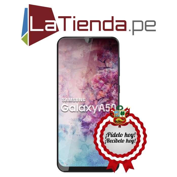Samsung Galaxy A50 pantalla de 6.4 pulgadas