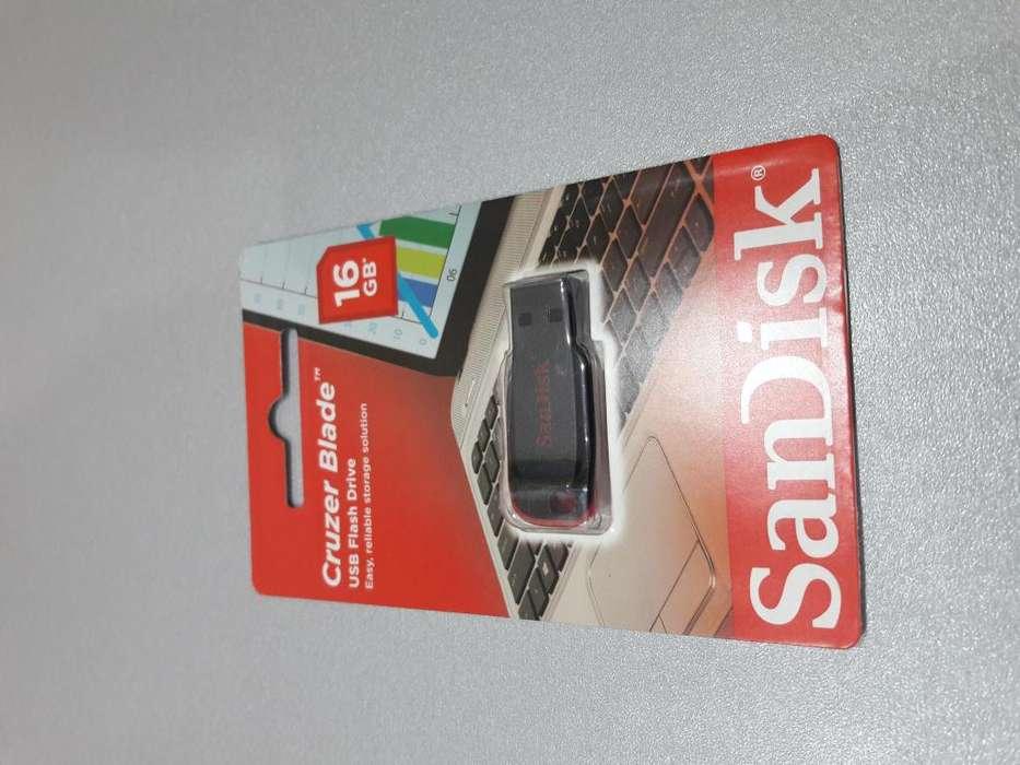 USB SANDISK DE 16 GB