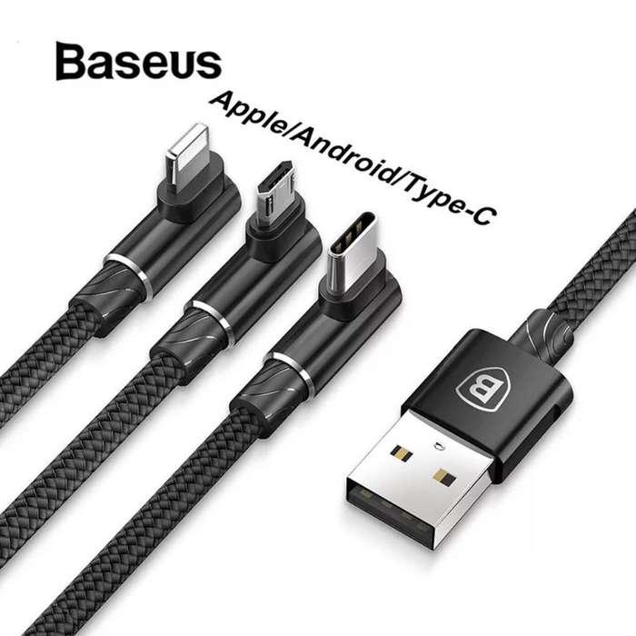 Cable Usb Baseus, 3 en 1