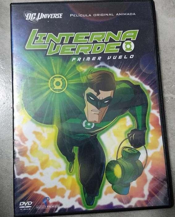 Dvd Lonterna Verde Animado