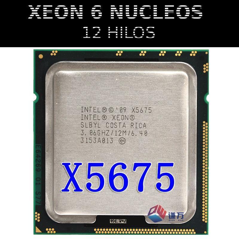 Intel Xeon X5675 6 Nucleos 12 Threads Soc 1366 X58