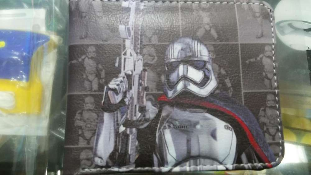 BILLETERAS STARS WARS