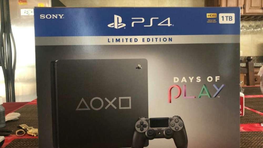Play 4 Sony 1 Tb Nueva en Caja