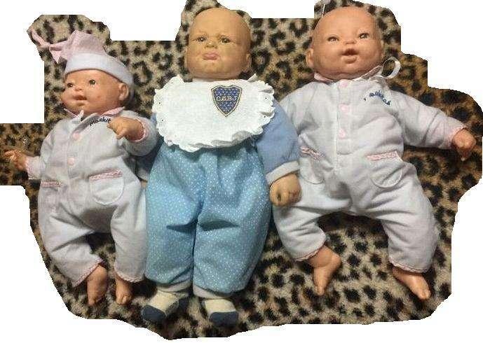 muñecos mimo impecables sin uso ! con sonidos y movimiento