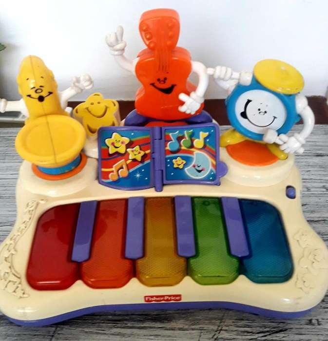 Piano Didáctico Fisher Prince