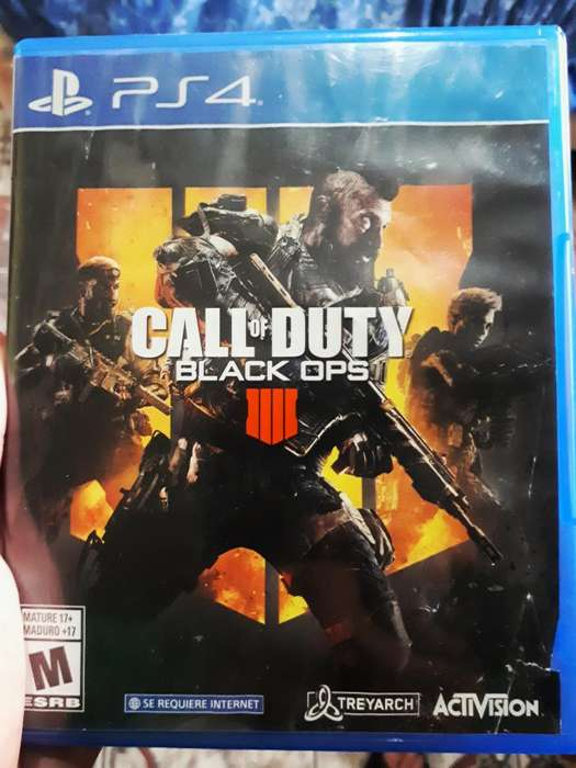 Call Of Dutty Black Opss 4 para Ps4