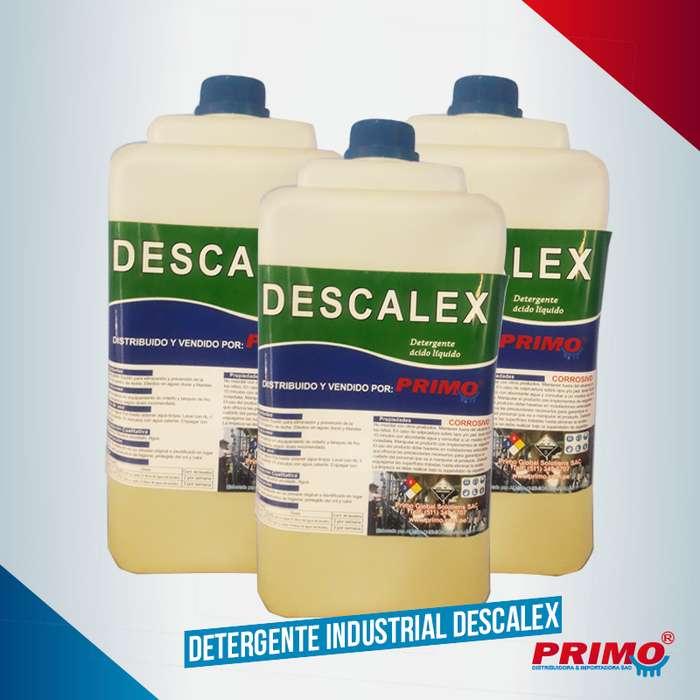 Detergente industrial Descalex Especial para ganaderia