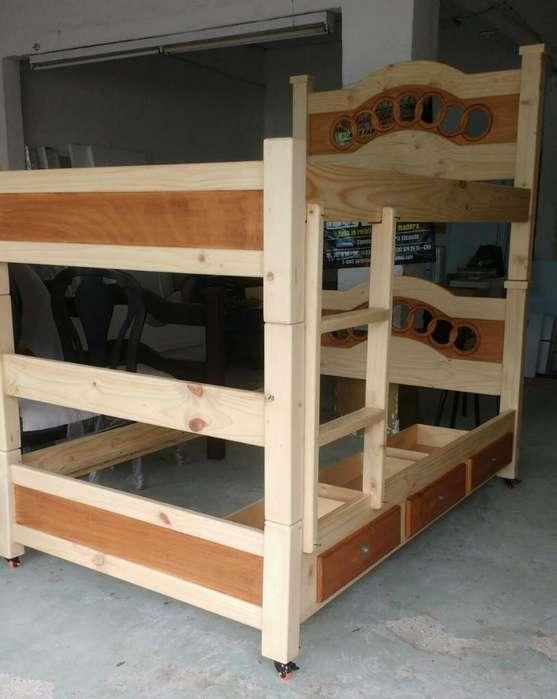 Fabricamos Camarotes en Madera Pino.