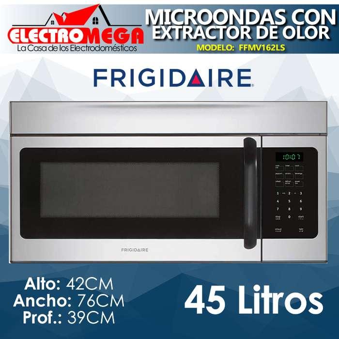 Microondas Empotrable Frigidaire 76cm Con Extractor De Olor