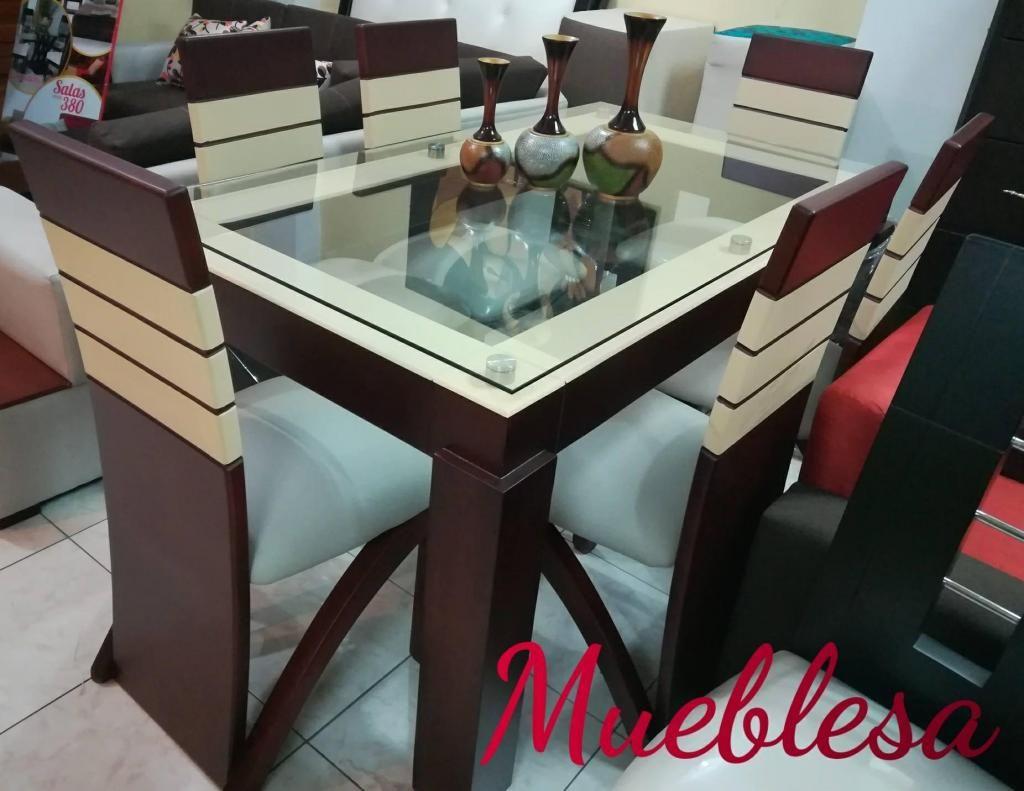 COMEDORES 6 PUESTOS...MUEBLESA