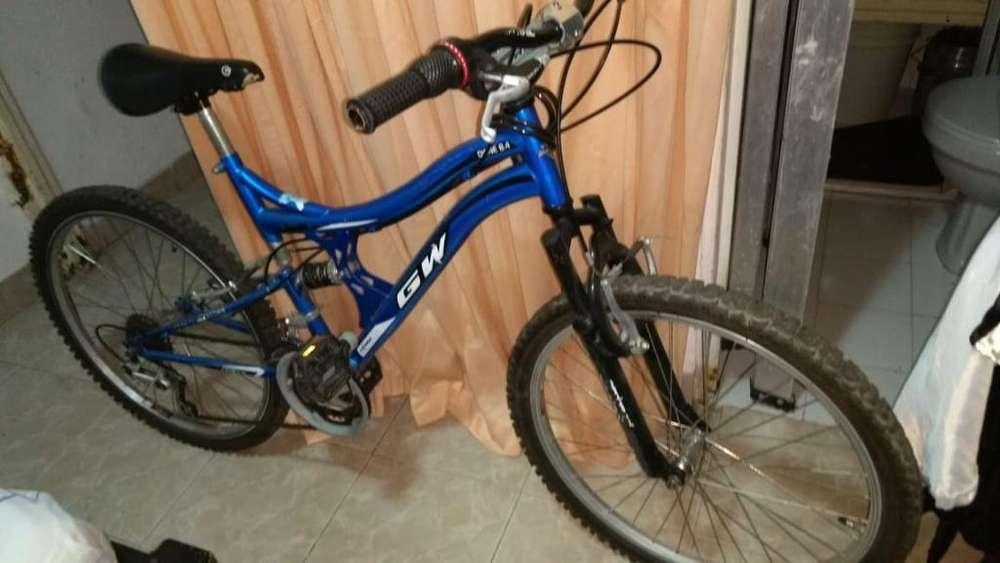 Bicicleta Todoterreno Seis Cambios