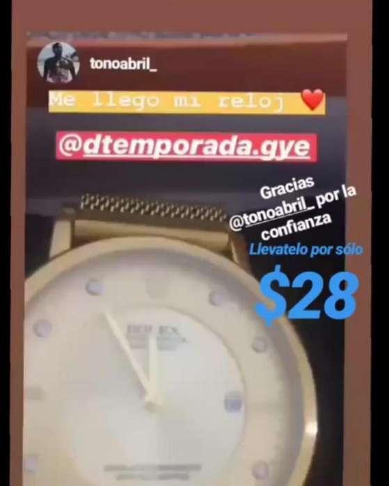 Reloj de Toño Abril <strong>rolex</strong> Classic DTEMPORADA