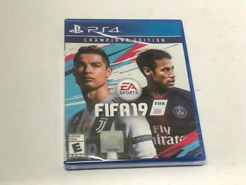 Fifa 19 Edición Champions <strong>playstation</strong> 4