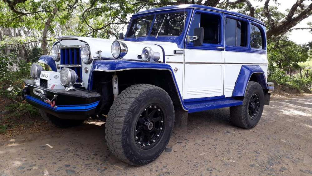 <strong>jeep</strong> Willys 1960 - 6000 km